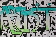 cool way to do graffiti names   Digication e-Portfolio :: Apache Elementary Art :: Graffiti Art