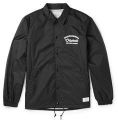 NEIGHBORHOOD Printed Shell Coach Jacket $205