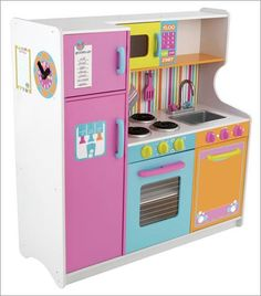 Toy Kitchens Undermount Kitchen Sinks Stainless Steel 25 Best Play Images Sets Deluxe Big Bright This Colorful Is Tops Features Refrigerator