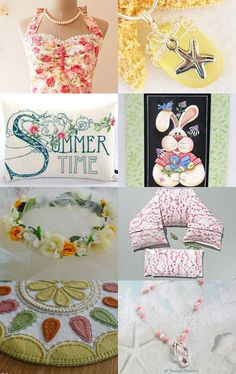 Summertime Dreaming  by Pat Tinnin on Etsy--Pinned+with+TreasuryPin.com