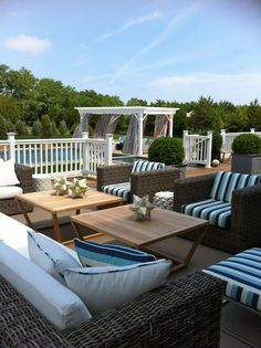 Hamptons porch