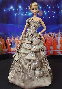 OOAK Barbie NiniMomo's Miss Poland 2009