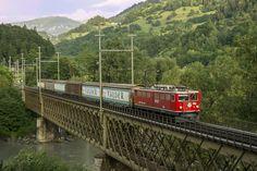 Stefano Trionfini   Rhb Ge 6/6 706 Reichenau 24/08/2012