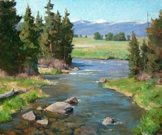 A fine art magazine featuring the works of artists producing watercolors, oil paintings and bronze sculpture based on Western American themes. Watercolor Landscape, Abstract Landscape, Landscape Paintings, Watercolor Art, Easy Canvas Painting, California Art, Amazing Paintings, Water Art, Art Club
