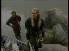 LOTR Fellowship of the Ring DVD Orlando Bloom Featurette << what happened to his hair?