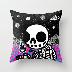 Spark Pillow by Heiko Windisch on Society6