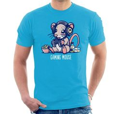 Gaming Mouse Animal Pun Shirt Men's T-Shirt