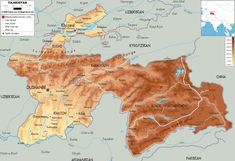 Map Of Afghanistan And Afghanistan Physical Map Afghanistan - Physical map of afghanistan