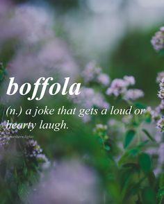 English //baf-fo-la//