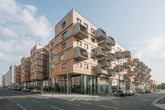 Wohnungsbau in der Seestadt Aspern -  Berger+Parkkinen Architekten + querkraft Architekten