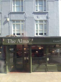 The Alma Pub in Crystal Palace, Greater London Greater London, London Restaurants, Crystal Palace, Marketing, Crystals, Shirt, Dress Shirt, Crystal, Shirts