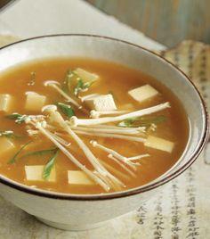 Recetas de sopa miso