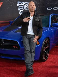 Vin Diesel hit the red carpet premiers of Fast & Furious 6 to thank fans for their support and announce production of the next installment, Fast & Furious 7.