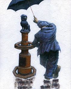 The official website of the contemporary artist - Alexander Millar. View and buy originals, prints and read the stories behind a range of Alexander's work. Figure Painting, Painting & Drawing, Norman Cornish, Greyfriars Bobby, Umbrella Art, Impressionist Artists, Man And Dog, Museum Exhibition, Limited Edition Prints