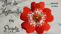 Aretes Of flora in tecnica ladrillo - Y . Seed Bead Flowers, Beaded Flowers, Seed Beads, Seed Bead Tutorials, Beading Tutorials, Beaded Jewelry Patterns, Fabric Jewelry, Peyote Patterns, Beading Patterns