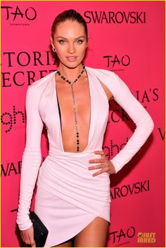 Candice Swanepoel attending the 2013 Victoria's Secret Fashion Show After Party held at TAO Downtown in New York City. #Fashion #Style #Beauty