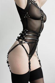 Bikini picture satin string woman