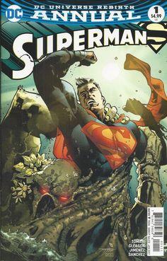 DC Superman Universe Rebirth Annual comic issue 1