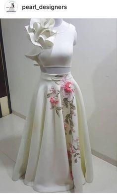 Designer Party Wear Dresses, Designer Gowns, Indian Designer Wear, Blue Frock, White Frock, Stylish Dress Designs, Stylish Dresses, Party Looks, Wedding Saree Blouse