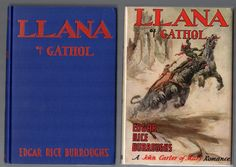 LLANA OF GATHOL by Edgar Rice Burroughs 1948 First Edition in Dust Jacket Nice