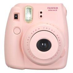 Fujifilm instax mini 8 Instant Film Camera Pink featuring polyvore women's fashion accessories tech accessories fillers - pink other tech fujifilm
