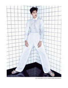 Byeon Woo Seok & Jo Min Ho for Esquire Korea July 2015. Photographed by Jang Dukhwa