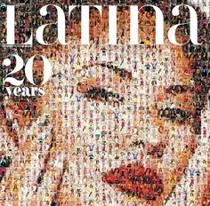 Latina Magazine celebrates 20 years with a mosaic cover of Selena!