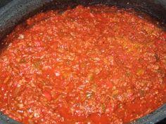Sauce spaghetti de la maman de Lexibule