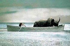 I've always felt this still summed up so many moments in my life.  Federico Fellini: E la nave va, 1983.