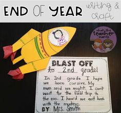 What the Teacher Wants!: End of Year Unit