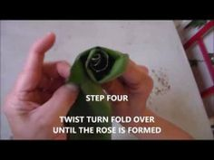 HOW TO MAKE A ROSE OUT OF HAWAIIAN TI LEAF - DESIGNING FOR DESIGNERS VIDEO TUTORIAL ONLINE SERIES
