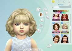 I received a request to make this hair for toddlers and is ready, I hope you enjoy! Available in default textures, 16 colors. Available for the base game. Download DONATE Custom Content in Model: 3D Lashes for Toddlers Natural Lipstick for Toddlers Frill Dress for Toddlers Dress Button Bow for Toddlers Frowning Dress Polygon Counts: 7206 …
