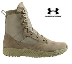 "Under Armour Jungle Rat Tactical Boot - UA 8"" Lightweight All Terrain Boots 8-14"