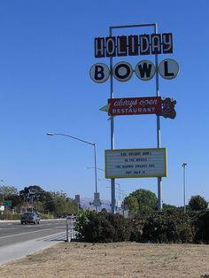 Holiday Bowl...Hayward, California My family went bowling on Christmas Eve!