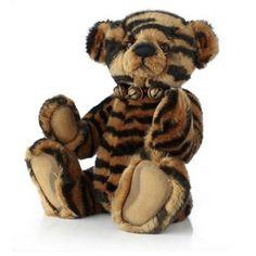 "Charlie Bears Limited Edition Animal Print Collectable 15"" Plush"