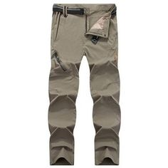 Tactical Hiking Pants Elastic Quick Dry Summer Pants Men Mountain Climbing  Cycling Trousers Trekking Outdoor Pants e342238e403a9