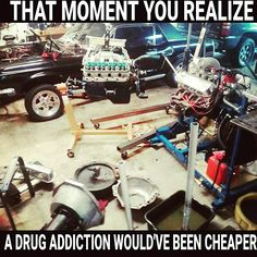 that moment you realize a drug addiction would've been cheaper.