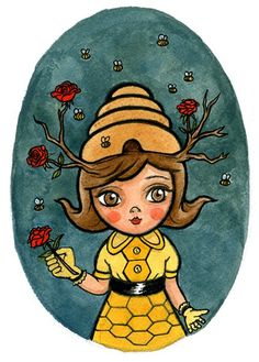 Bee Girl - MUMBOT