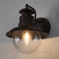 Applique d'extérieur Eddie rustique IP44, référence 9630001 - Collection lampe extérieure Eddie sur Luminaire.fr - Frais de port offerts dès 99€ d'achats.