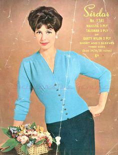 Curvy Month Begins – Sirdar 1741, c 1940s/1950s/1960s – Subversive Femme