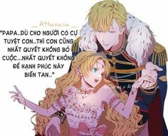 Even if you refuse me . I will never let happiness disappear. Anime Princess, My Princess, Manhwa Manga, 3 In One, Webtoon, Novels, Fan Art, Cute, Pictures