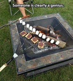The Most Brilliant Use Of A Rake In The History Of Mankind.