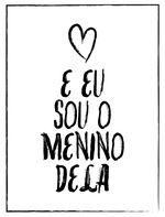 EU SOU O MENINO DELA Wallpaper Casais, Couple Wallpaper, Wallpaper Iphone Disney, Posters Diy, Wallpapers Tumblr, Just Love, Texts, Clip Art, Lettering