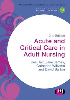 This book helps adult nursing students to competently manage care of critically and acutely ill patients, and to recognize and deal with the early signs of deterioration. The book takes a practical real-life approach to care, with each chapter focusing on patients with specific problems, then interweaving the knowledge and skills needed to care for that patient.  New to this edition: two new chapters focusing on the renal system and endocrine system...