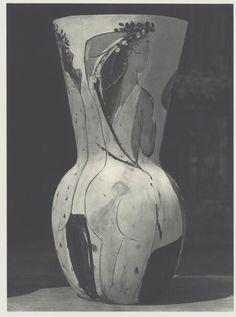 Original 1951 Woman Vase, Pablo Picasso, Verve Heliogravure, Fine Art, Rare #Surrealism