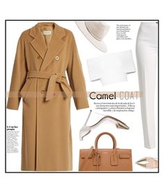 Time For Camel Coat by castelli on Polyvore featuring polyvore fashion style Rosetta Getty MaxMara Basler Gianvito Rossi Yves Saint Laurent rag & bone clothing camelcoat