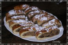 Orechovník Czech Recipes, Russian Recipes, Ethnic Recipes, Snack Recipes, Cooking Recipes, Snacks, Strudel, Baked Goods, French Toast