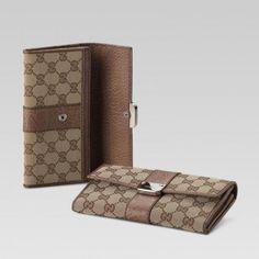 233028 F4g1n 9763 Continental Geldb?rse mit eingraviertem Gucci-Logo und St Gucci Damen Portemonnaie