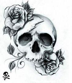 pretty skull tattoos for women pretty skull tattoos for women Hai Tattoos, Bild Tattoos, Love Tattoos, Beautiful Tattoos, Tattoos For Women, Tatoos, Tattoo Women, Amazing Tattoos, Tattoos Pics
