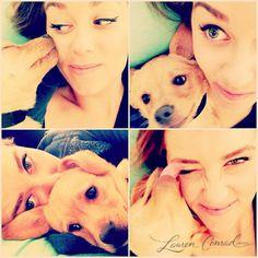 puppy love #lauren conrad